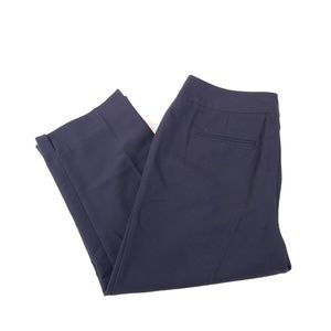 Rafaella Pants - Rafaella Black 2-Pocket Curvy Fit Dress Capris